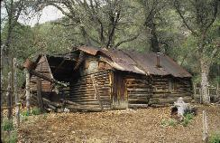 Tony Ranch Cabin in Haunted Canyon.